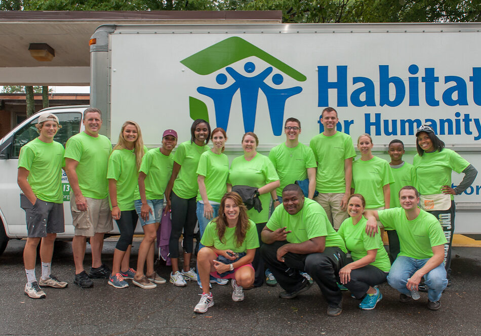 Enterprise Holdings volunteers with Habitat for Humanity DeKalb, July 19, 2014. Volunteers helped with various projects at the Indian Creek Elementary School and the Atlanta Area School for the Deaf in Clarkston, DeKalb County, GA.